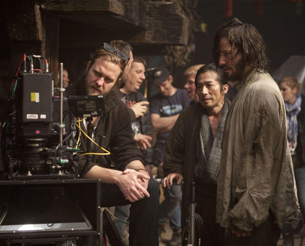 Keanu Reeves on set filming 47 Ronin | Cultjer