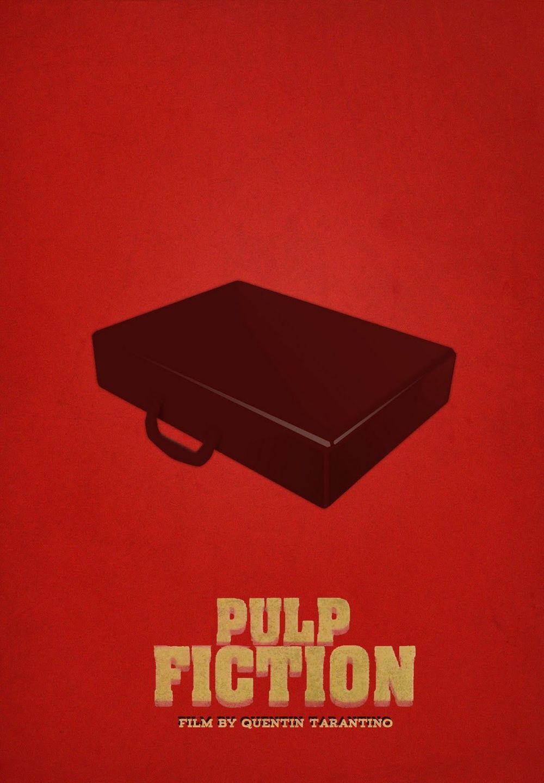 Pulp Fiction Minimal Movie Poster 5