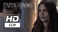 Cara Delevingne Needs to Borrow the Car in New 'Paper Towns'