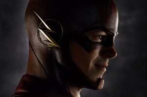 First photo of The Flash!