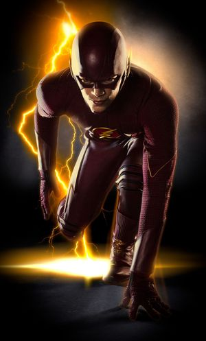 The Flash's entire costume