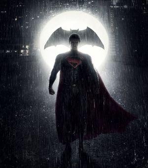 Batman vs. Superman teaser poster