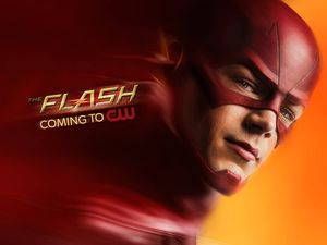 Teaser poster for The Flash
