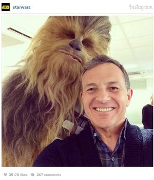 First look at Chewbacca from Star Wars: Episode VII appears