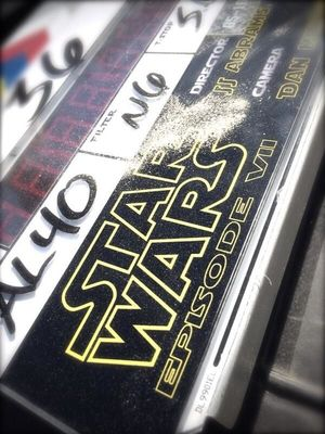 Star Wars: Episode VII shares a behind-the-scenes photo from