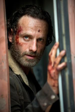 The Walking Dead debuts Season 5 photo