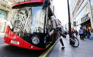 White Walker catching a bus