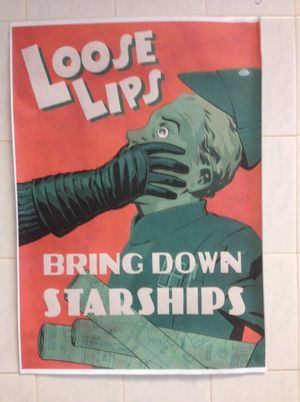 J.J. Abrams has this poster up on the 'Star Wars: Episode VI