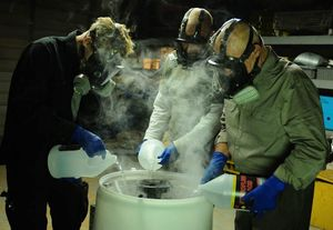 Working with chemicals in Breaking Bad