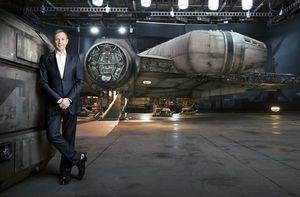 The Millennium Falcon from the upcoming Star Wars: Episode V