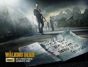 New Poster for Final Half of The Walking Dead Season 5
