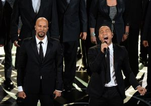 John Legend and Common Perform at the Oscars