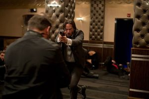 Keanu Reeves Shoots 'em Up