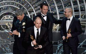 Interstellar Wins Best Visual Effects