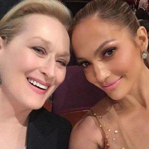 Meryl Streep and Jennifer Lopez Send Out a Selfie