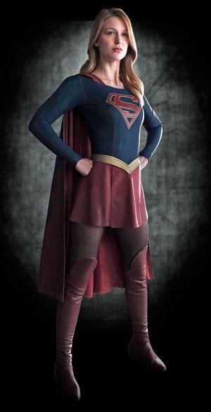 Melissa Benoist as DC Comics' Supergirl