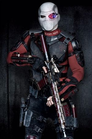 Will Smith as Deadshot in #SuicideSquad