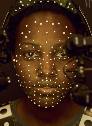 Lupita Nyong'o (12 Years a Slave) in Star Wars - The Force A