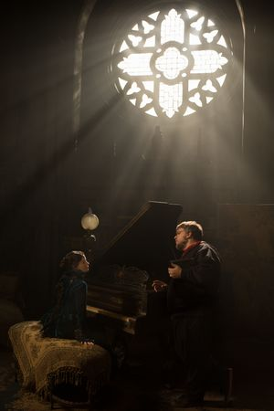 Guillermo del Toro directs Jessica Chastain, beautiful light