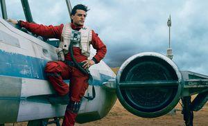 Oscar Isaac as Poe Dameron in Star Wars - The Force Awakens
