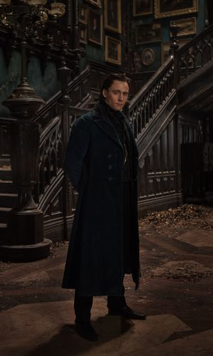 Tom Hiddleston portrait, Crimson Peak