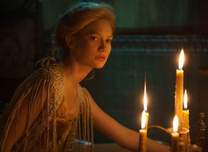 Mia Wasikowska and some candlelight, Crimson Peak