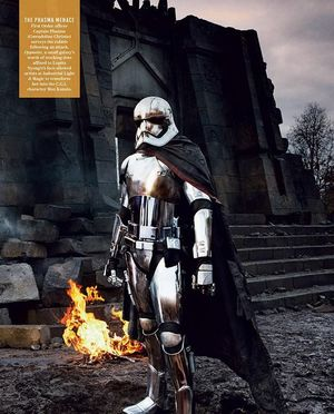 Gwendoline Christie as Captain Phasma in Star Wars - The For