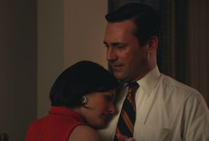 Peggy and Don have a moment in Mad Men