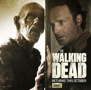 Rick Grimes, Walker Behind Door, Season 6