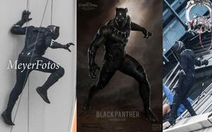 Black Panther spotted on Set of 'Captain America: Civil War'