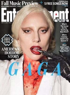 First Look at Lada Gaga in 'American Horror Story: Hotel' -