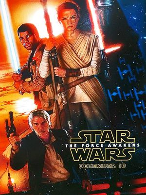 New 'Star Wars: The Force Awakens' Poster by Drew Struzan