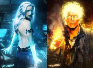 Caitlin Snow/Killer Frost & Ronnie Raymond/Firestorm