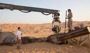 J.J. Abrams behind-the-scenes of Star Wars: Episode VII - Th