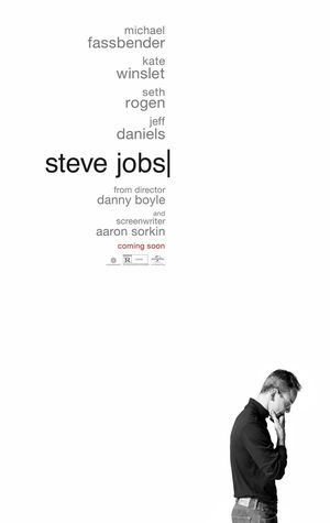 An official poster for 'Steve Jobs', starring Michael Fassbe