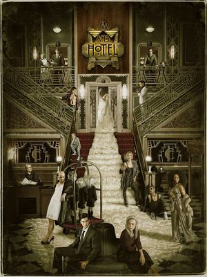 AHS: Hotel Official Cast Poster