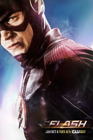 New The Flash Season 2 Poster features Barry's smoking suit