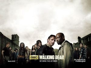Cast poster for The Walking Dead, Season 6