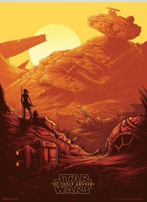 IMAX poster for 'Star Wars: The Force Awakens'