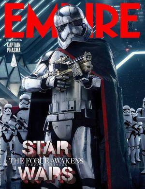 Captaim Phasma Features on Empire Cover