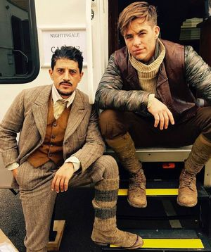 First image of Chris Pine as Steve Trevor