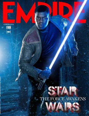 Finn Features on Empire Cover