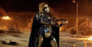 Captain Phasma poses for us in the latest still