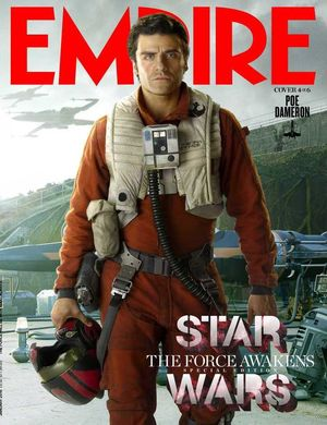 Poe Dameron Features on Empire Cover