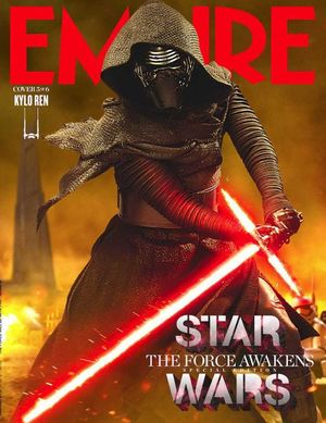 Kylo Ren Features on Empire Cover