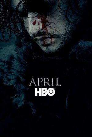 Jon Snow in GoT season 6 Poster