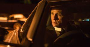 Bond in Dark Car
