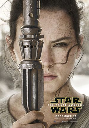 Daisy Ridley, Rey close-up Poster