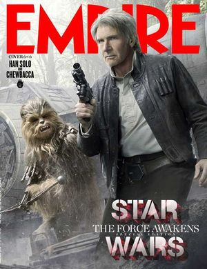 Han Solo and Chewbacca Feature on Empire Cover