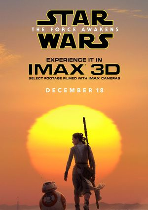 Official IMAX Poster for Star Wars: The Force Awakens